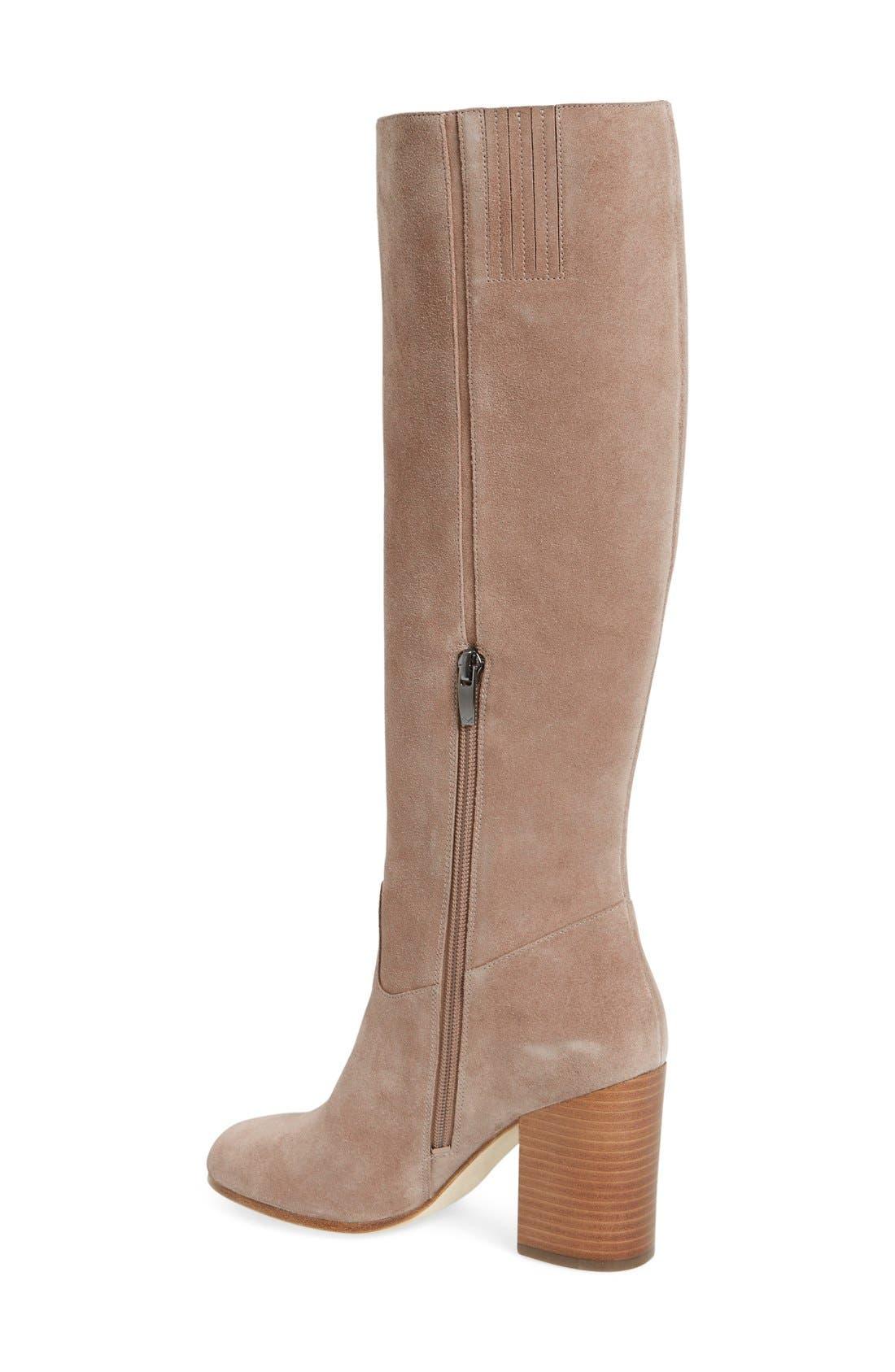 Alternate Image 2  - Via Spiga 'Beckett' Tall Boot (Women)