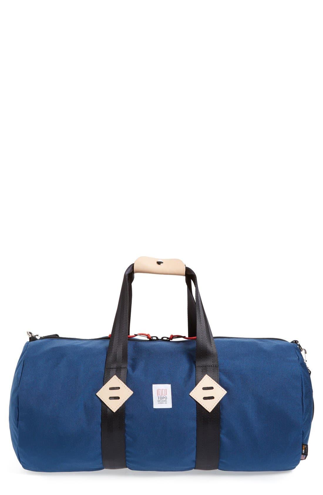 Classic Duffel Bag,                             Main thumbnail 1, color,                             Navy