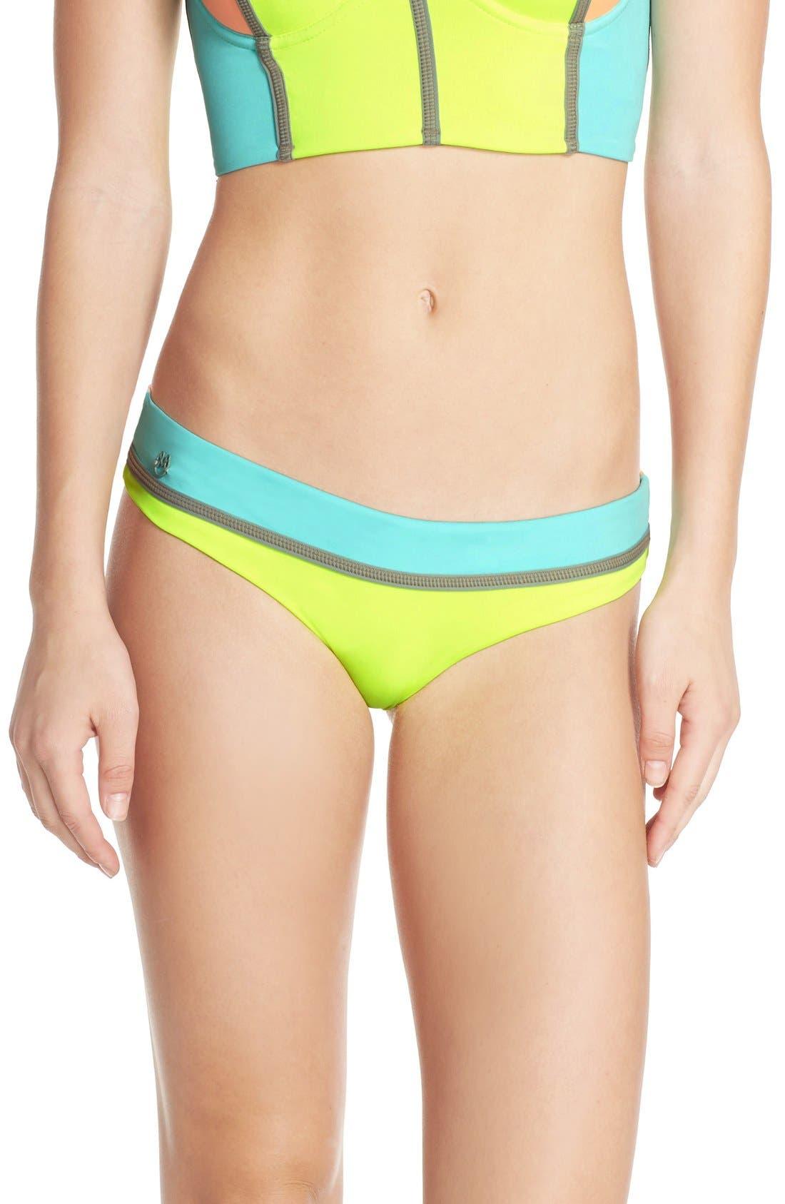 Alternate Image 2  - Maaji 'Lime Cubism' Reversible Bikini Bottoms