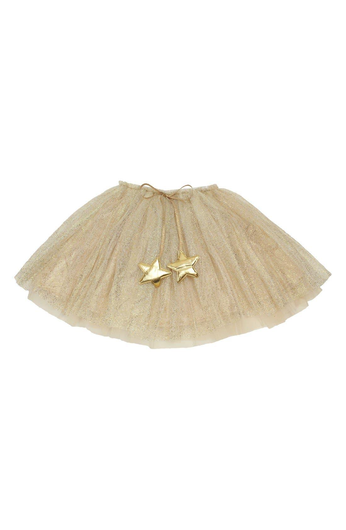 Gold Glitter Star Tutu,                         Main,                         color, Gold