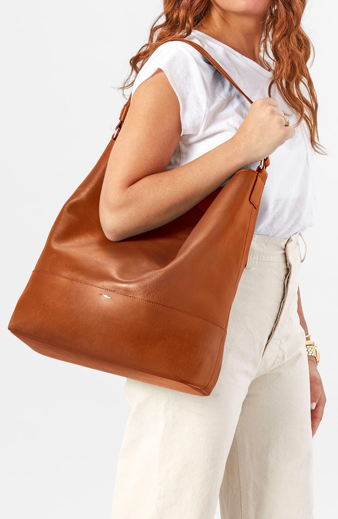 Alternate Image 2  - Shinola Relaxed Leather Hobo Bag