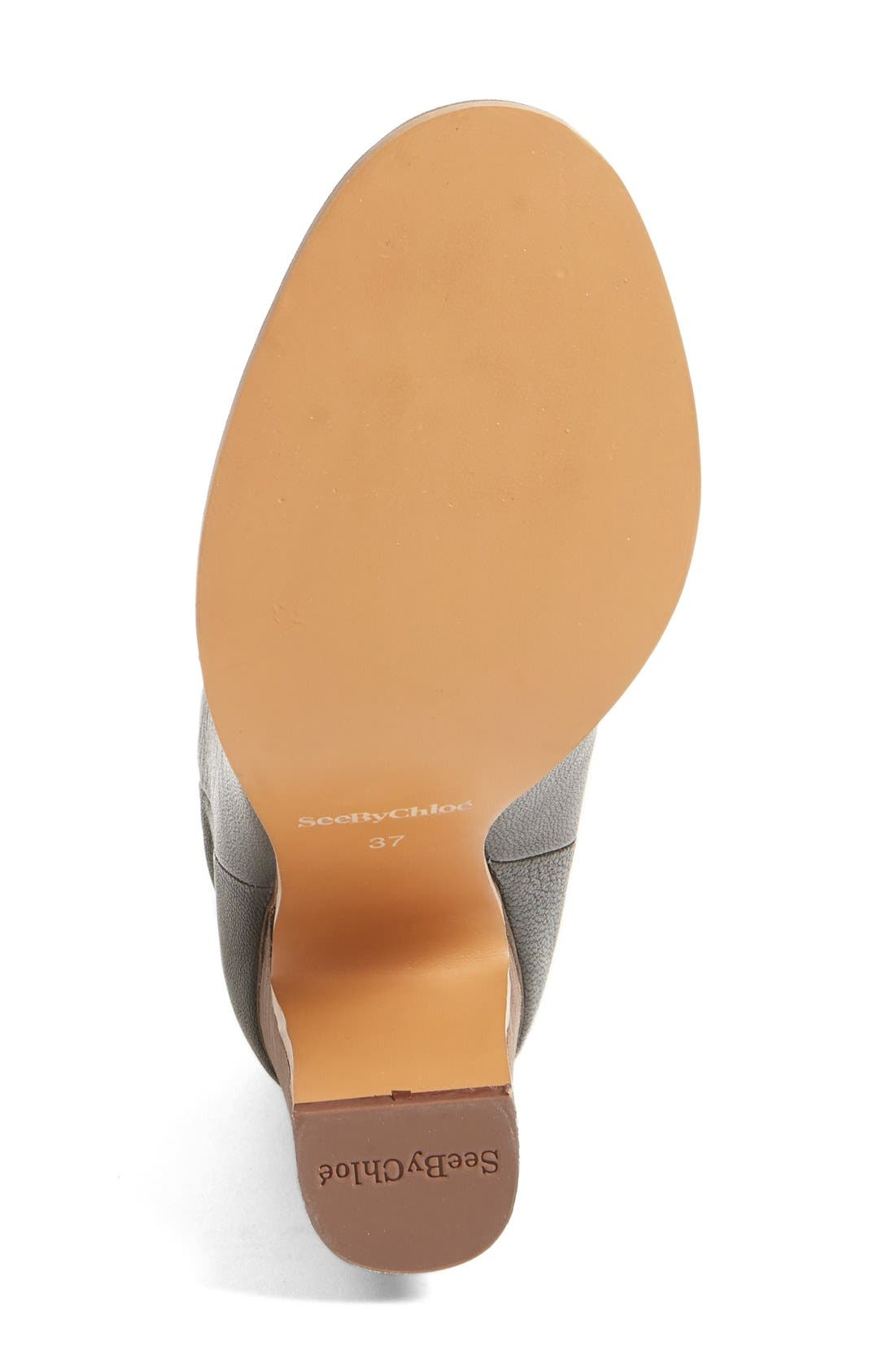 Alternate Image 4  - See by Chloé 'Jane' Scalloped Bootie (Women)
