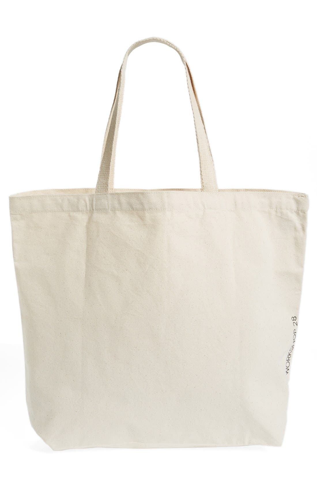 Alternate Image 2  - WORKSHOP 28 'Surf with Aloha' Canvas Tote