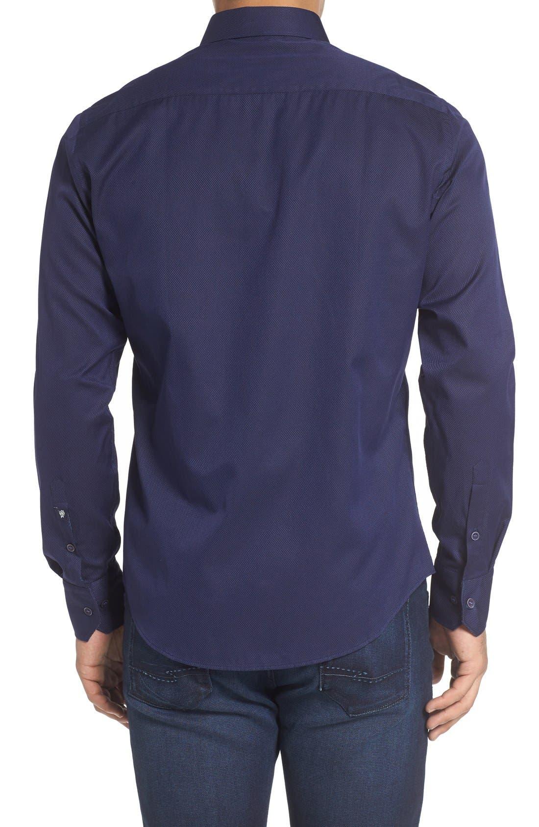 Alternate Image 2  - Stone Rose Textured Sport Shirt