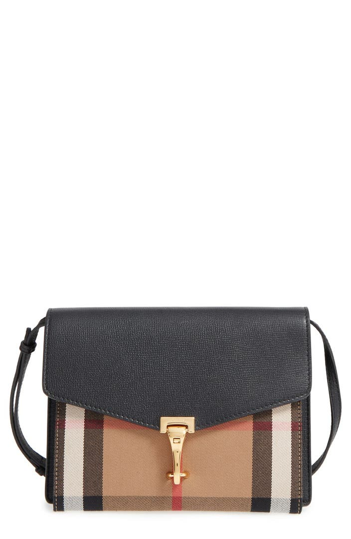 Burberry 'Small Macken' House Check Crossbody Bag | Nordstrom