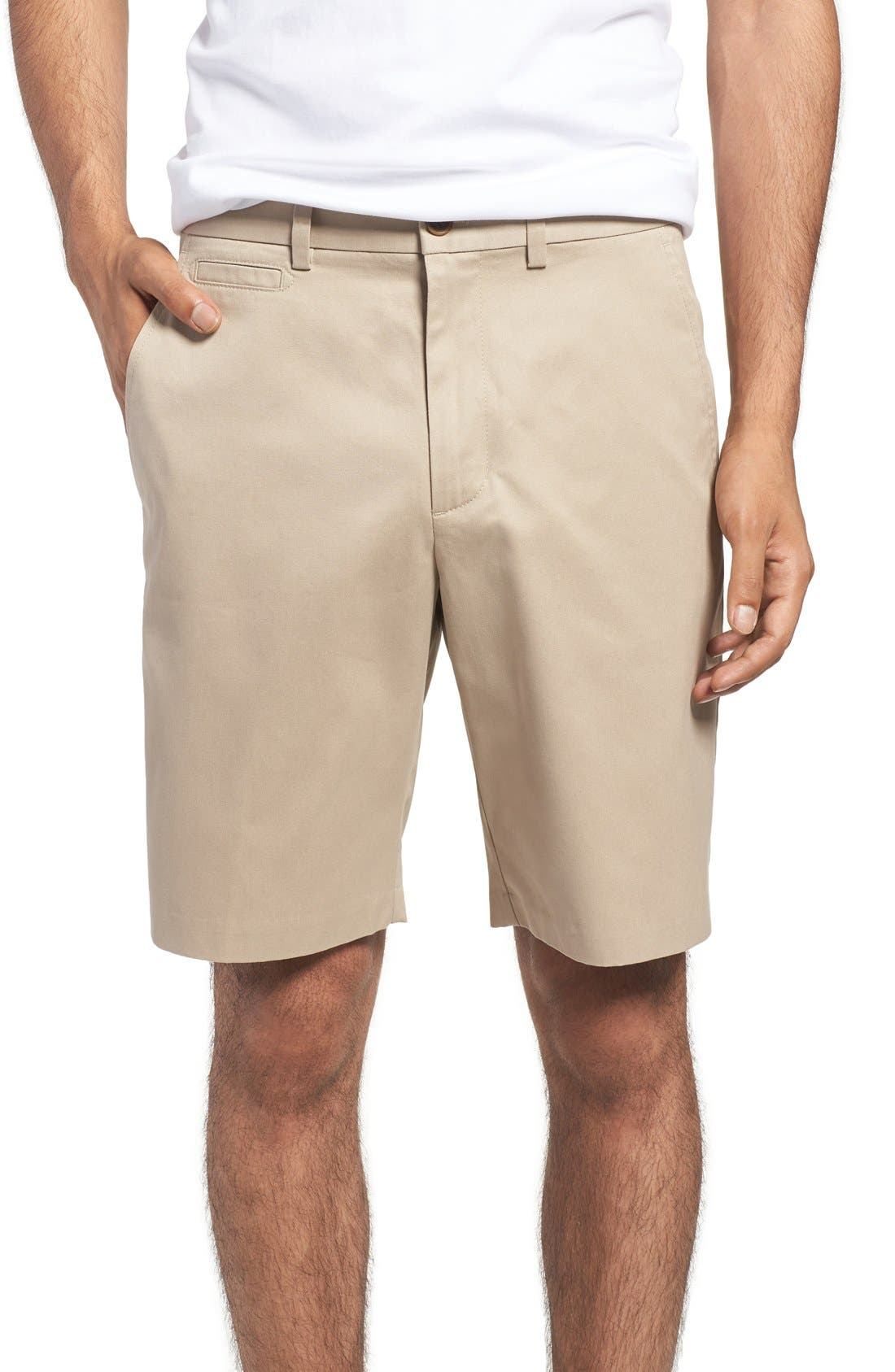 Nordstrom Men's Shop Smartcare™ Flat Front Shorts