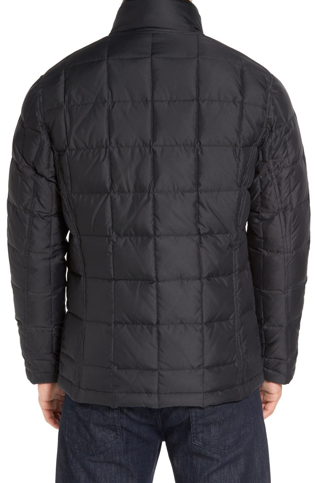 Alternate Image 2  - Cole Haan Box Quilted Jacket