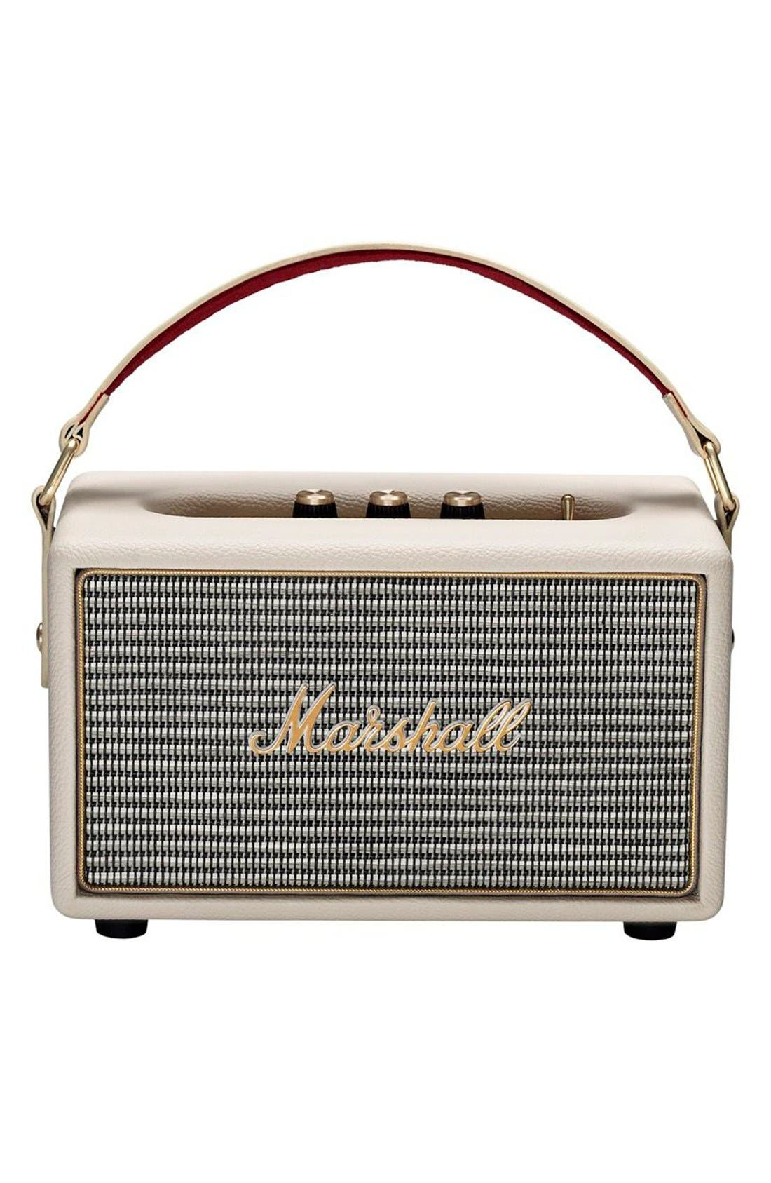 Kilburn Portable Bluetooth<sup>®</sup> Speaker,                         Main,                         color, Cream