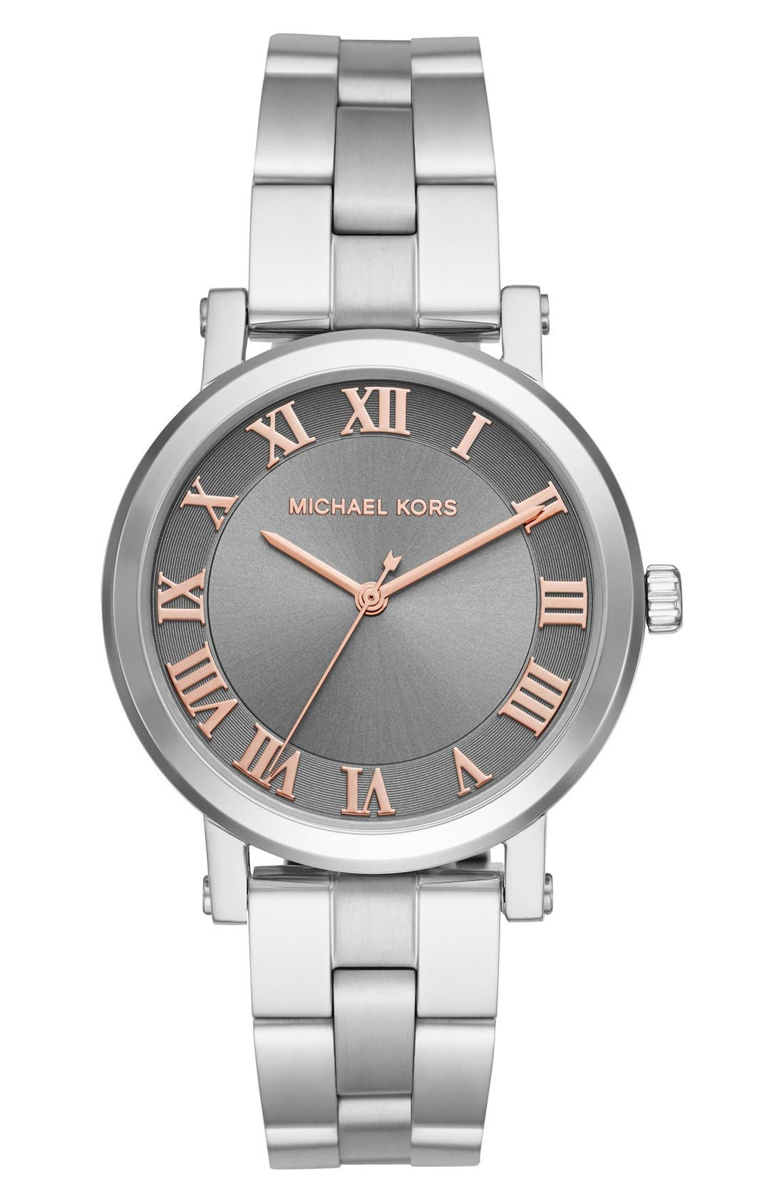 Main Image - Michael Kors 'Norie' Bracelet Watch, 38mm