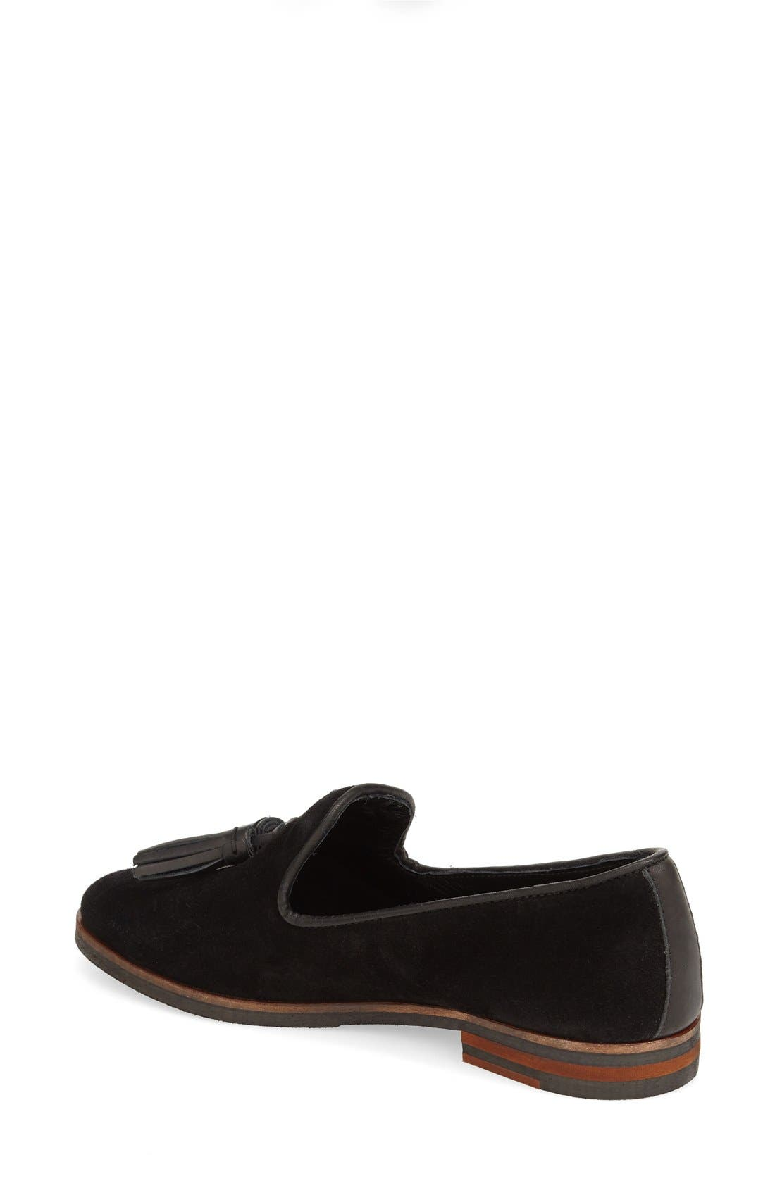 Alternate Image 2  - Dune London 'Gales' Tasseled Venetian Loafer (Women)