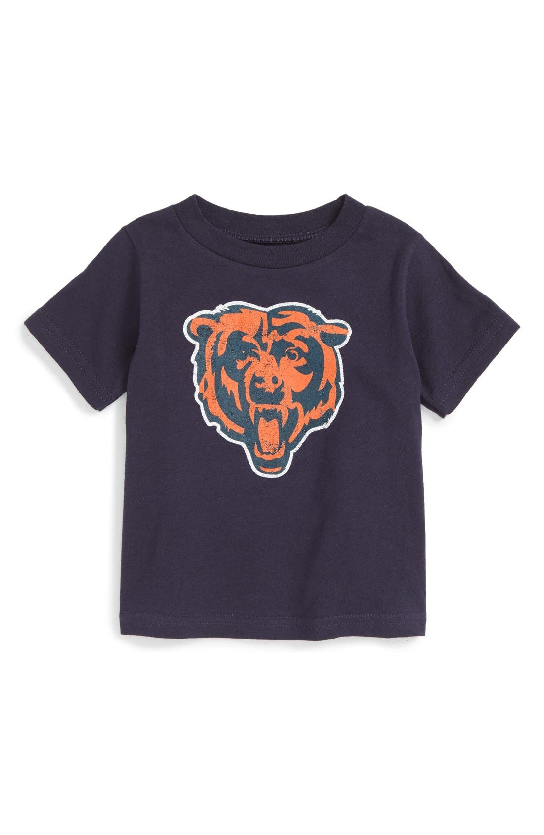 NFL Distressed Logo Graphic T-Shirt,                         Main,                         color, Bears