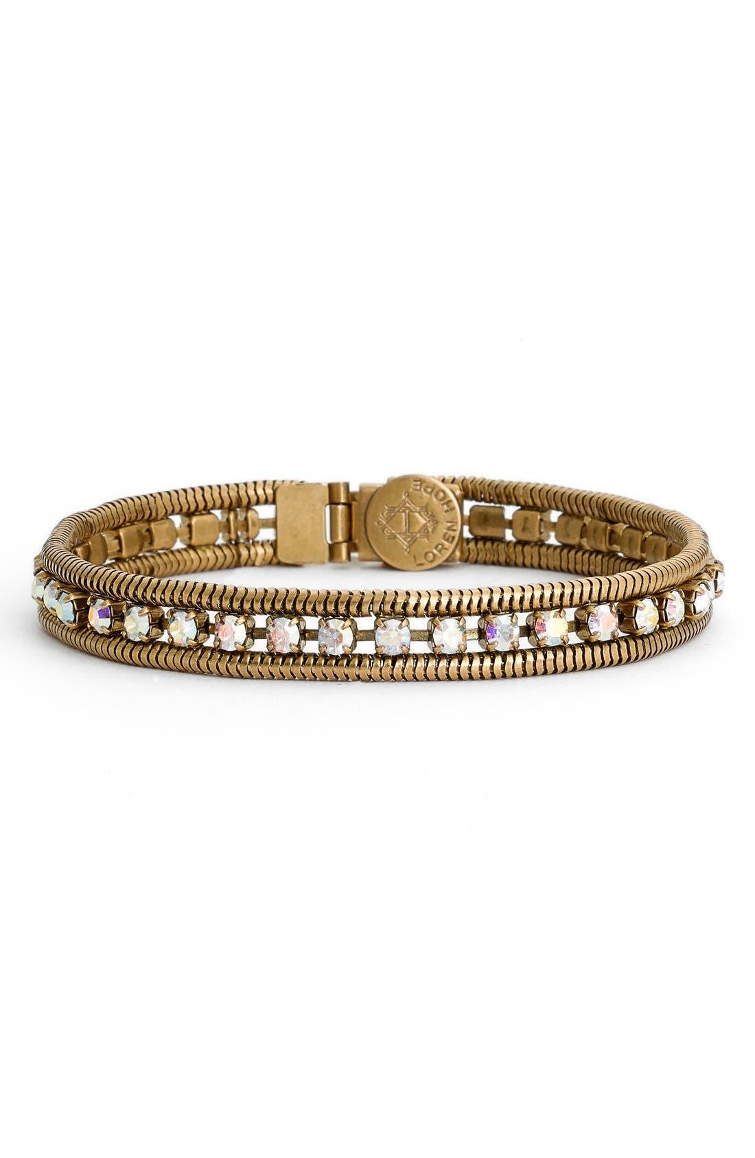 Main Image - Loren Hope 'Clara' Crystal Bracelet