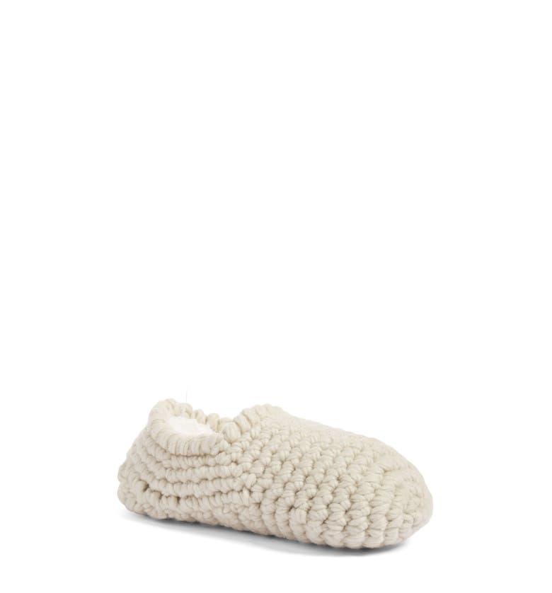 Lemon Nonas Slipper Socks With Faux Fur Lining Nordstrom