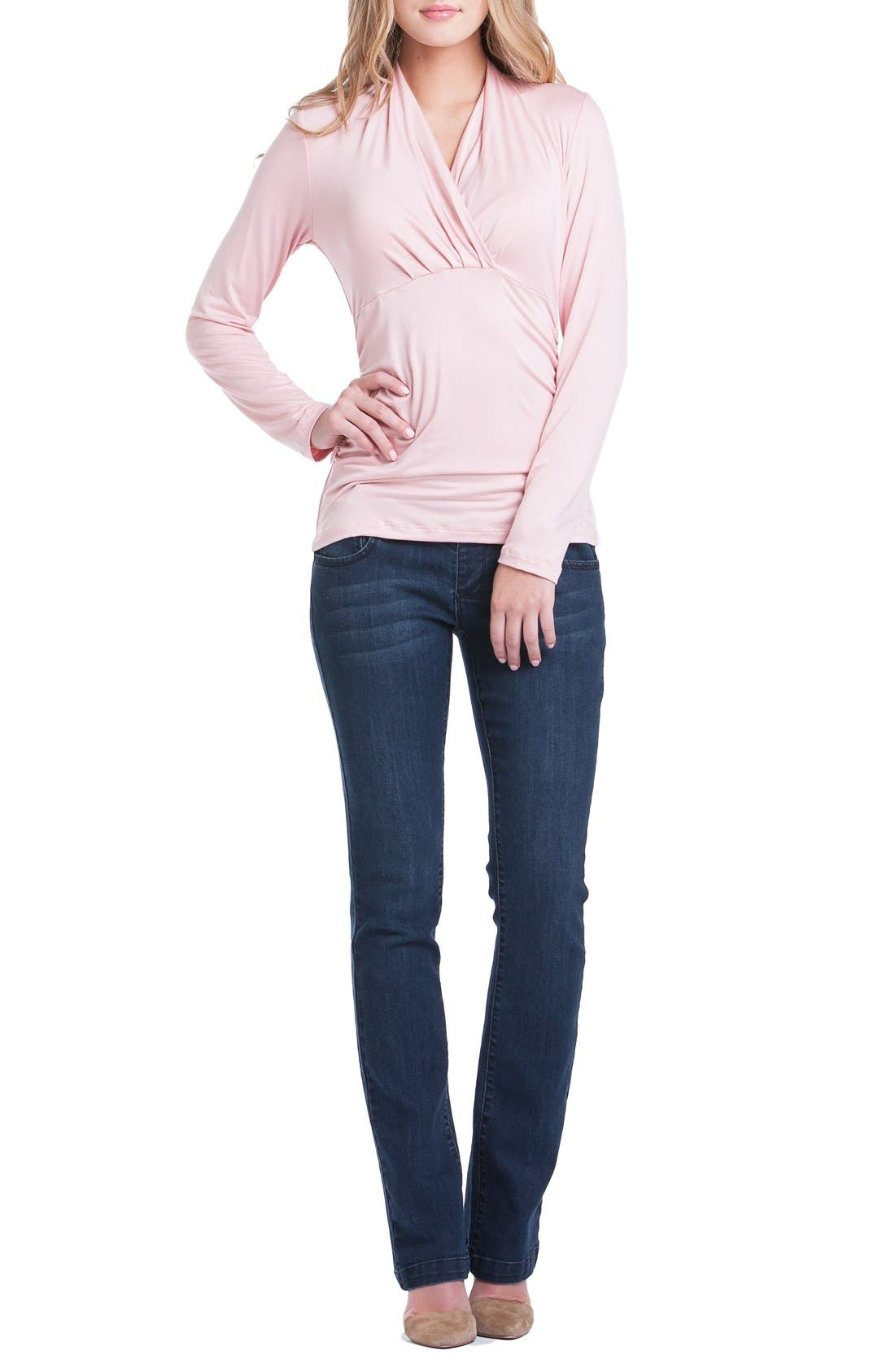 Alternate Image 5  - Lilac Clothing Megan Maternity Top