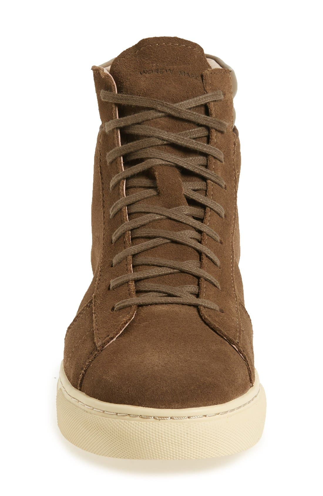 Alternate Image 3  - Andrew Marc 'Remsen' High Top Sneaker (Men)