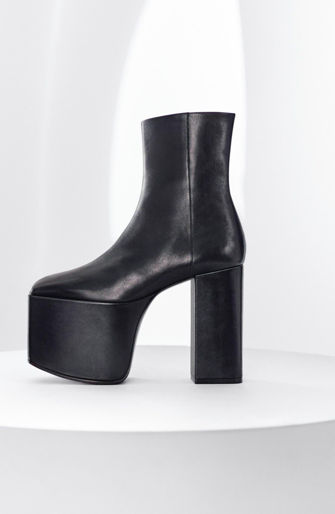 Alternate Image 5  - Balenciaga Platform Bootie (Women)
