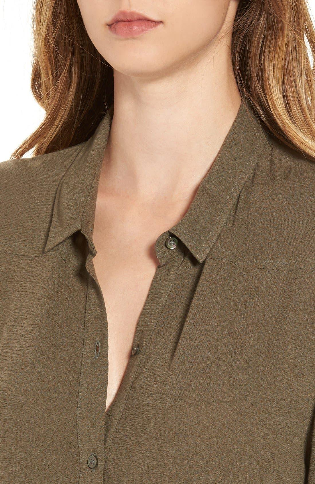 Alternate Image 5  - Leith Long Drapey Tunic