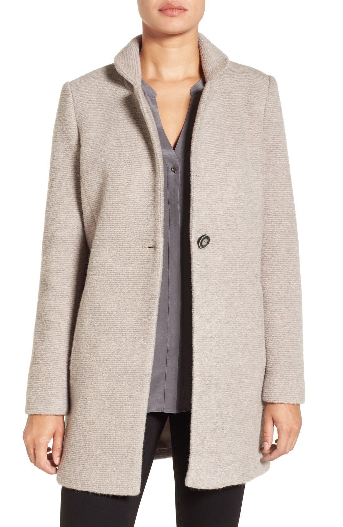 Main Image - Kenneth Cole New York Bouclé Coat