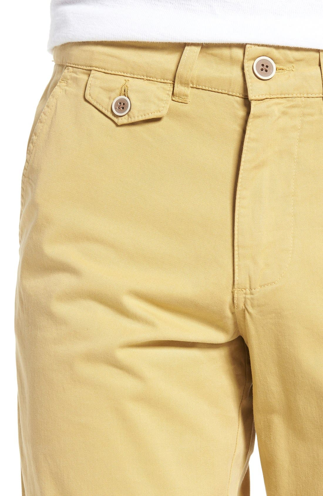 Alternate Image 4  - Vintage 1946 Sunny Modern Fit Stretch Twill Chinos