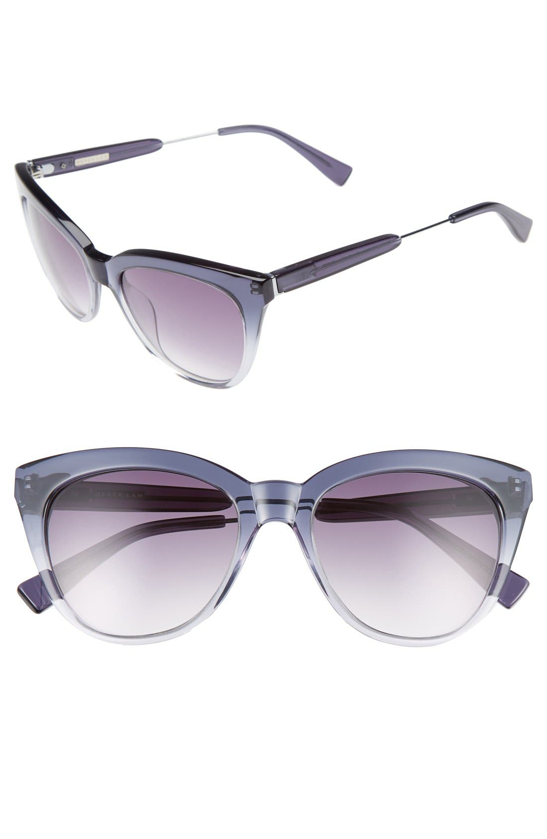 Alternate Image 1 Selected - Derek Lam 'Lenox' 53mm Cat Eye Sunglasses