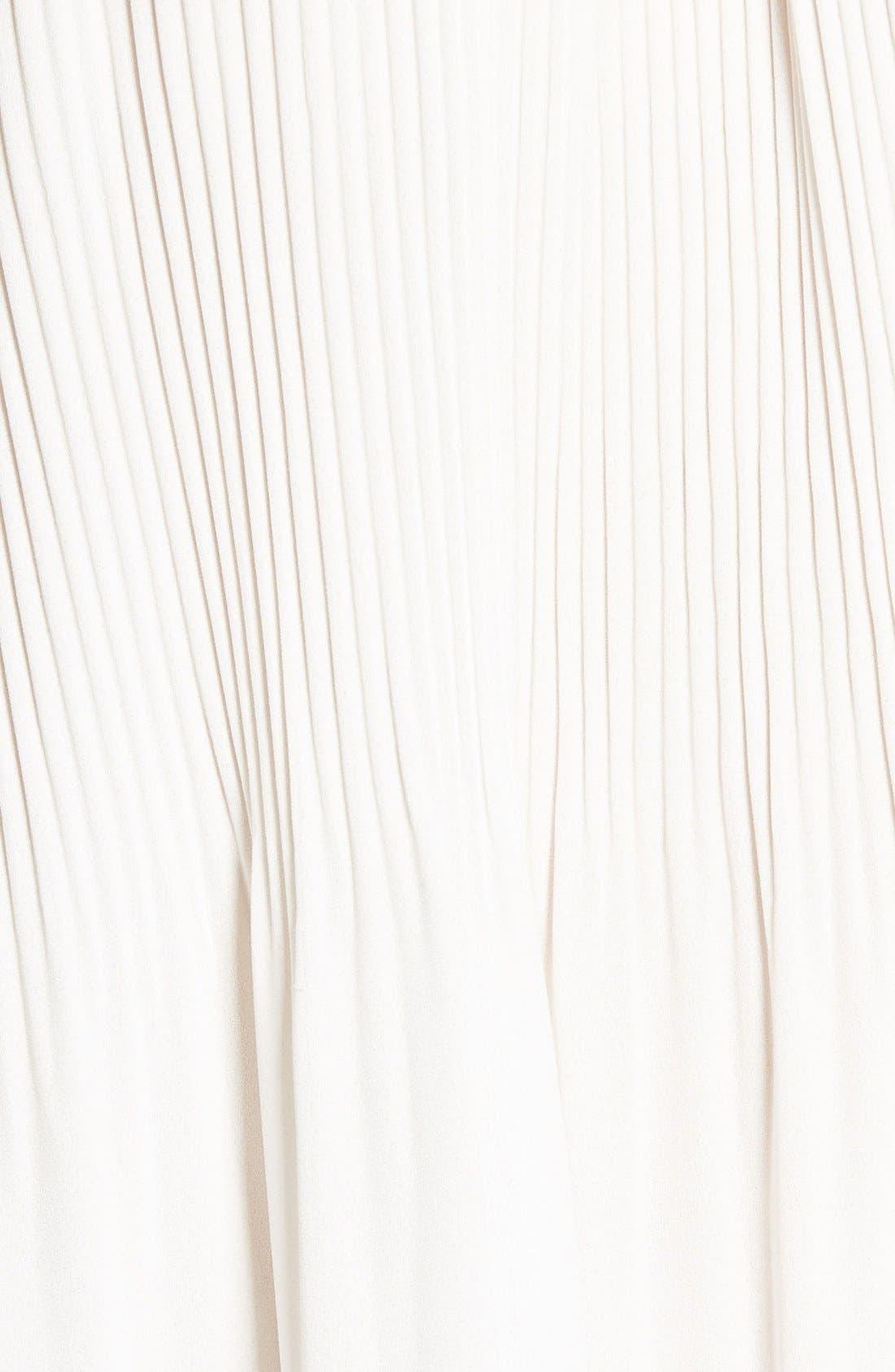 Alternate Image 5  - Bobeau Cold Shoulder Plissê Blouse