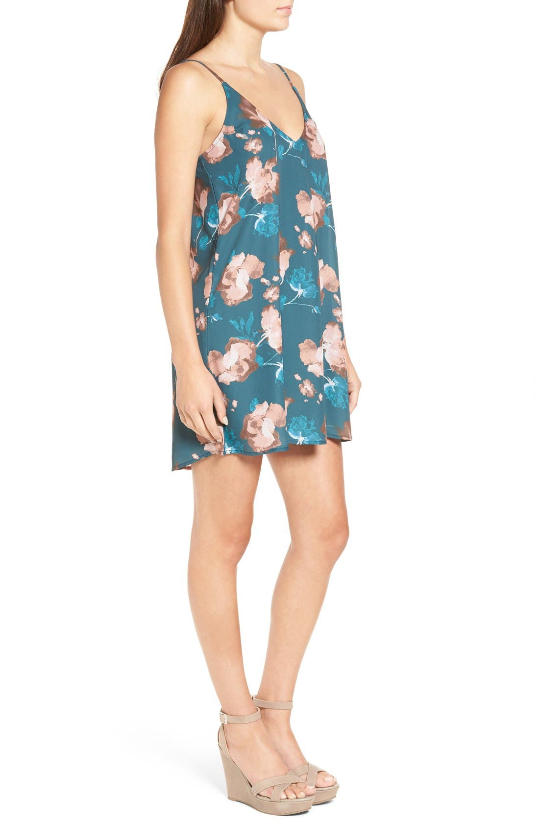 Alternate Image 3  - Ten Sixty Sherman Floral Print Slipdress