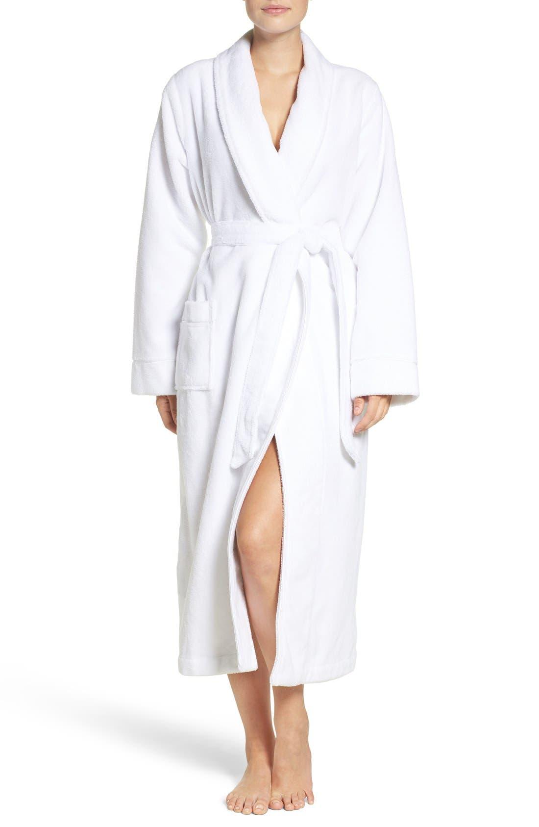 Alternate Image 1 Selected - Nordstrom Lingerie Terry Velour Robe