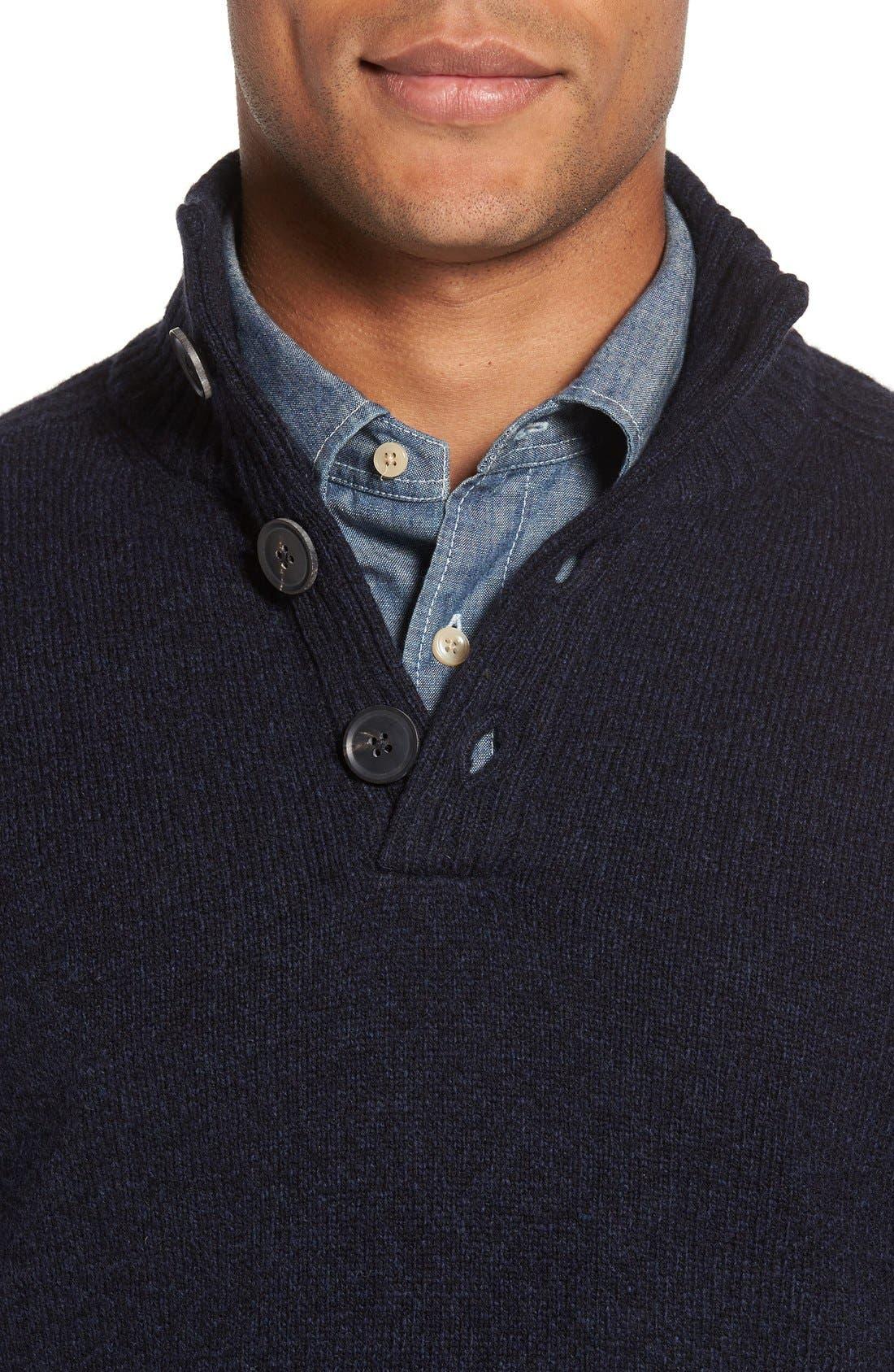 Alternate Image 4  - Rodd & Gunn Birkenhead Mock Neck Sweater