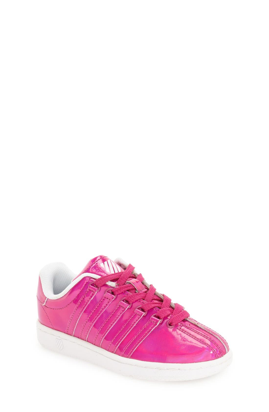 'Classic - Shine On' Sneaker,                         Main,                         color, Pink/ White