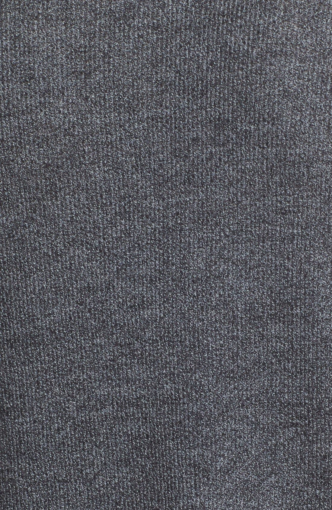 'Giles' Lightweight Merino Wool Pullover,                             Alternate thumbnail 5, color,                             Charcoal