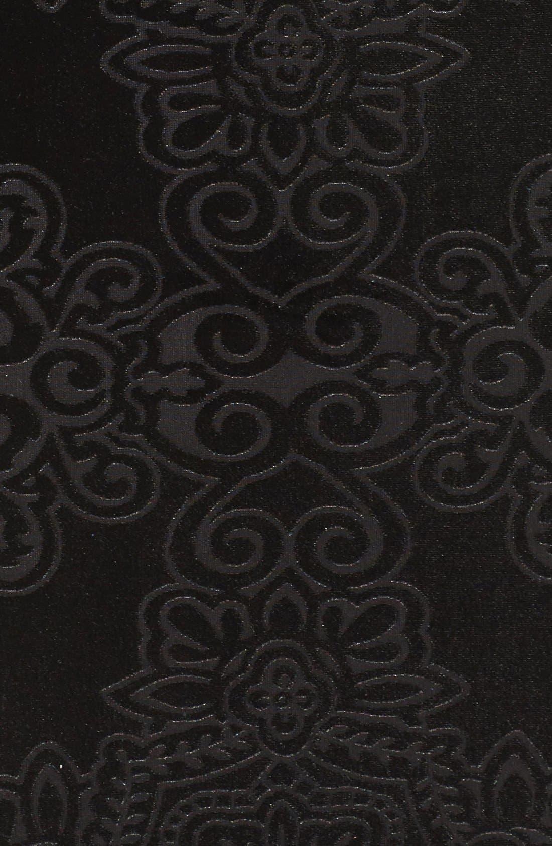 Alternate Image 6  - Maggy London Burnout Velvet Sheath Dress (Regular & Petite)