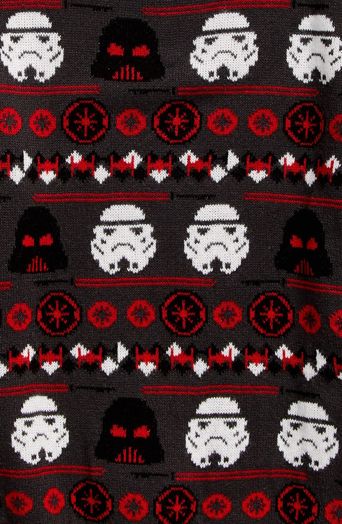 Alternate Image 2  - Jem Holiday Wars Sweater (Big Boys)