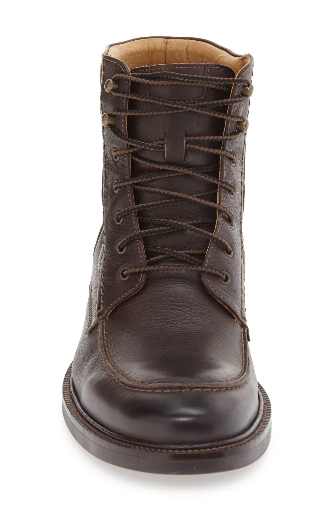 'Baird' Moc Toe Boot,                             Alternate thumbnail 3, color,                             Brown