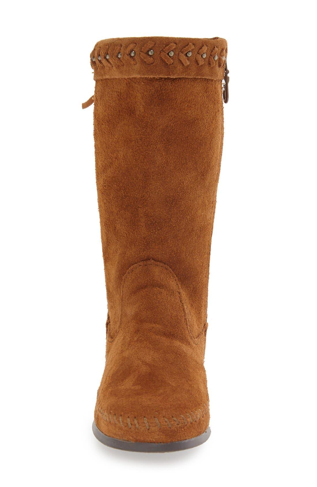 Alternate Image 3  - Minnetonka 'Luna' Fringe Boot (Women)