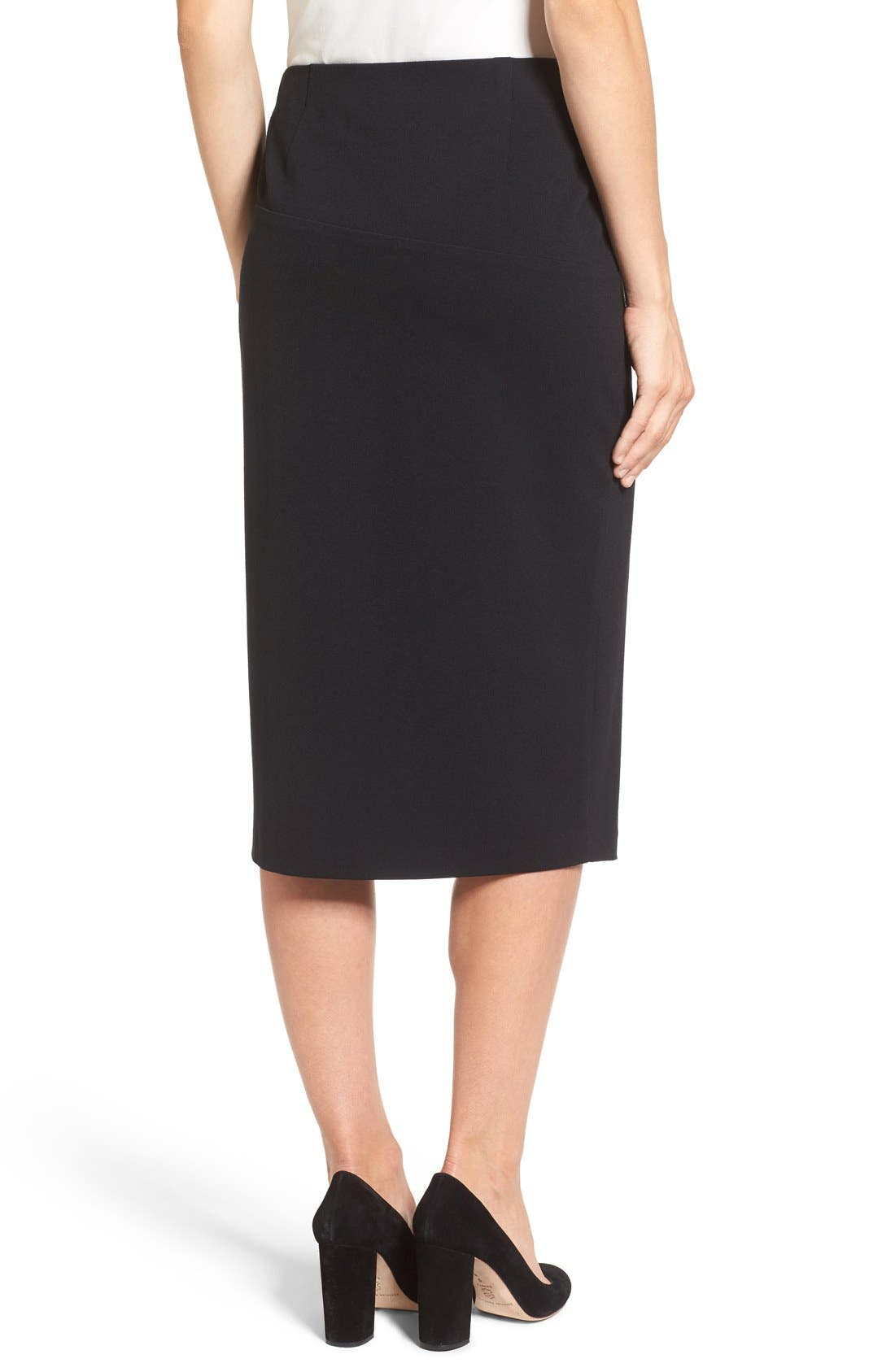 Alternate Image 2  - Vince Camuto Slit Pencil Skirt