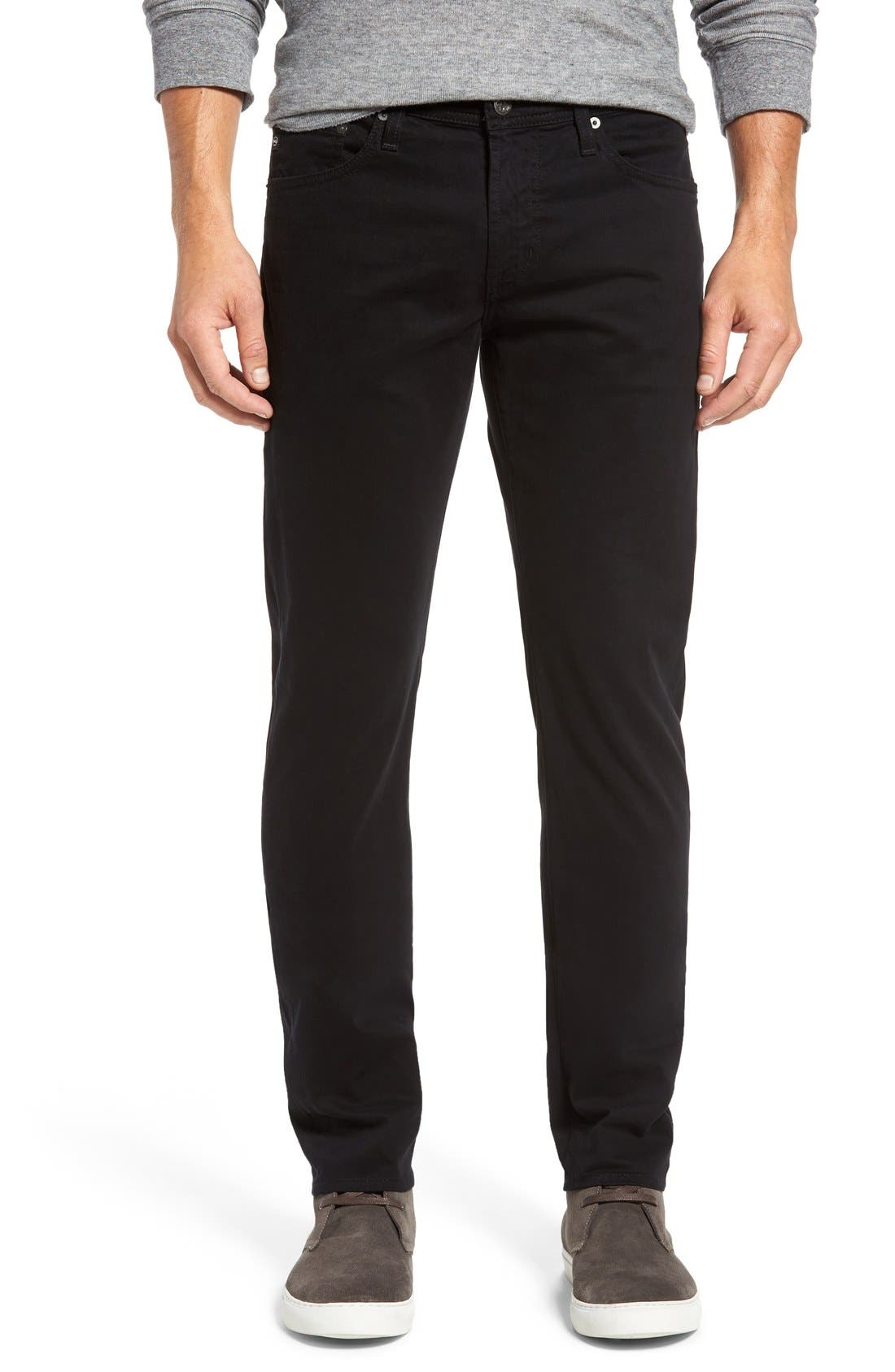 Dylan Slim Fit Pants,                         Main,                         color, 1 Year Black Night