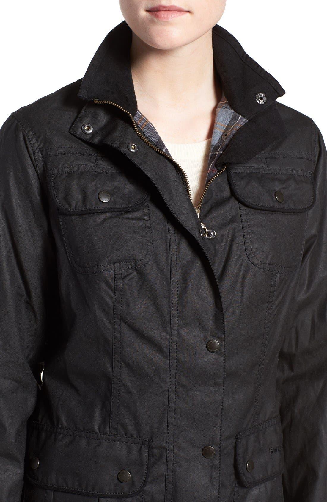 Alternate Image 4  - Barbour Waxed Cotton Utility Jacket