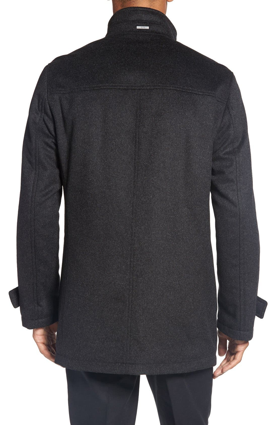 Alternate Image 2  - BOSS 'Camlow' Wool & Cashmere Car Coat