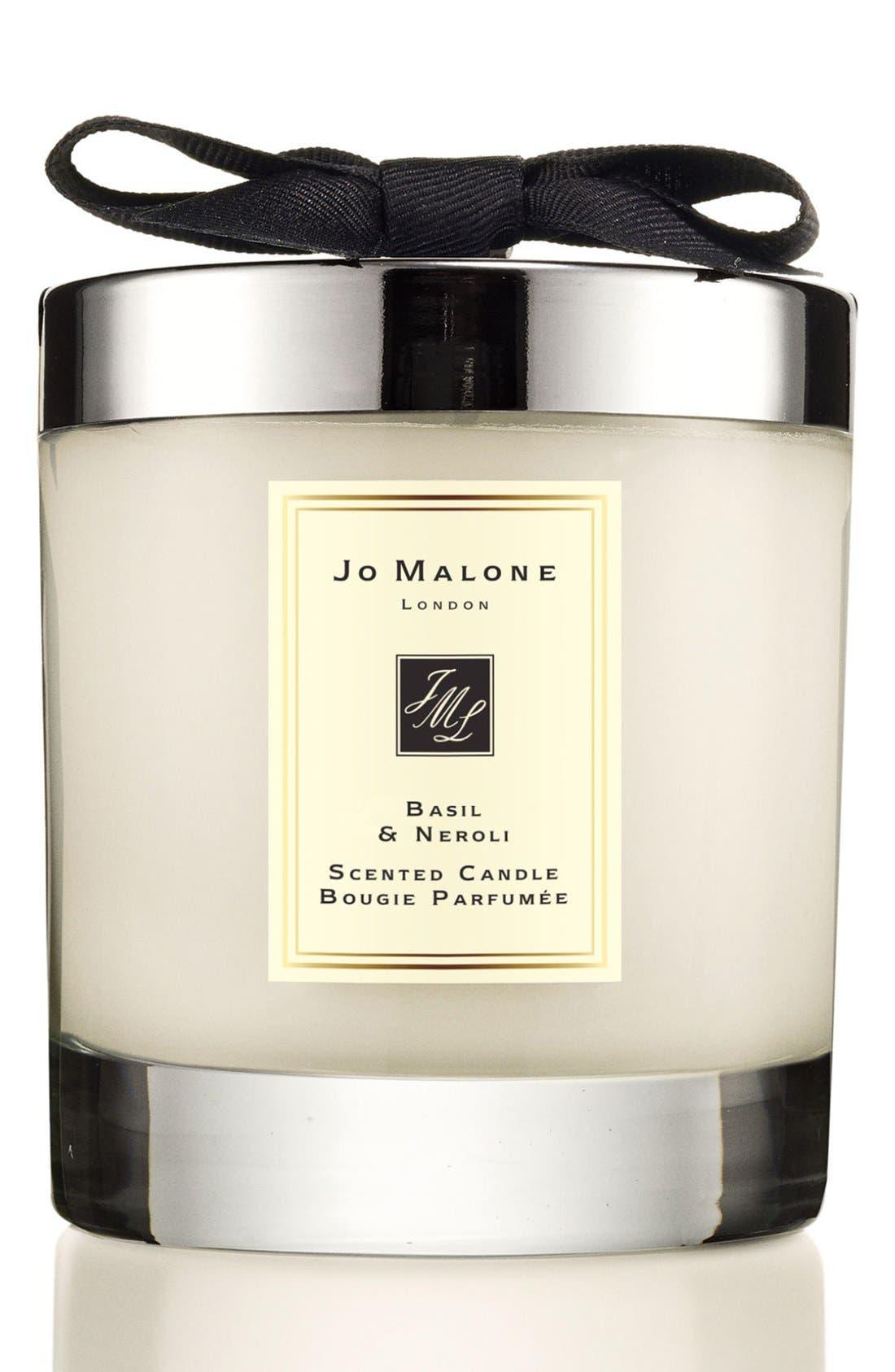 Jo Malone<sup>™</sup> Basil & Neroli Candle,                         Main,                         color, No Color