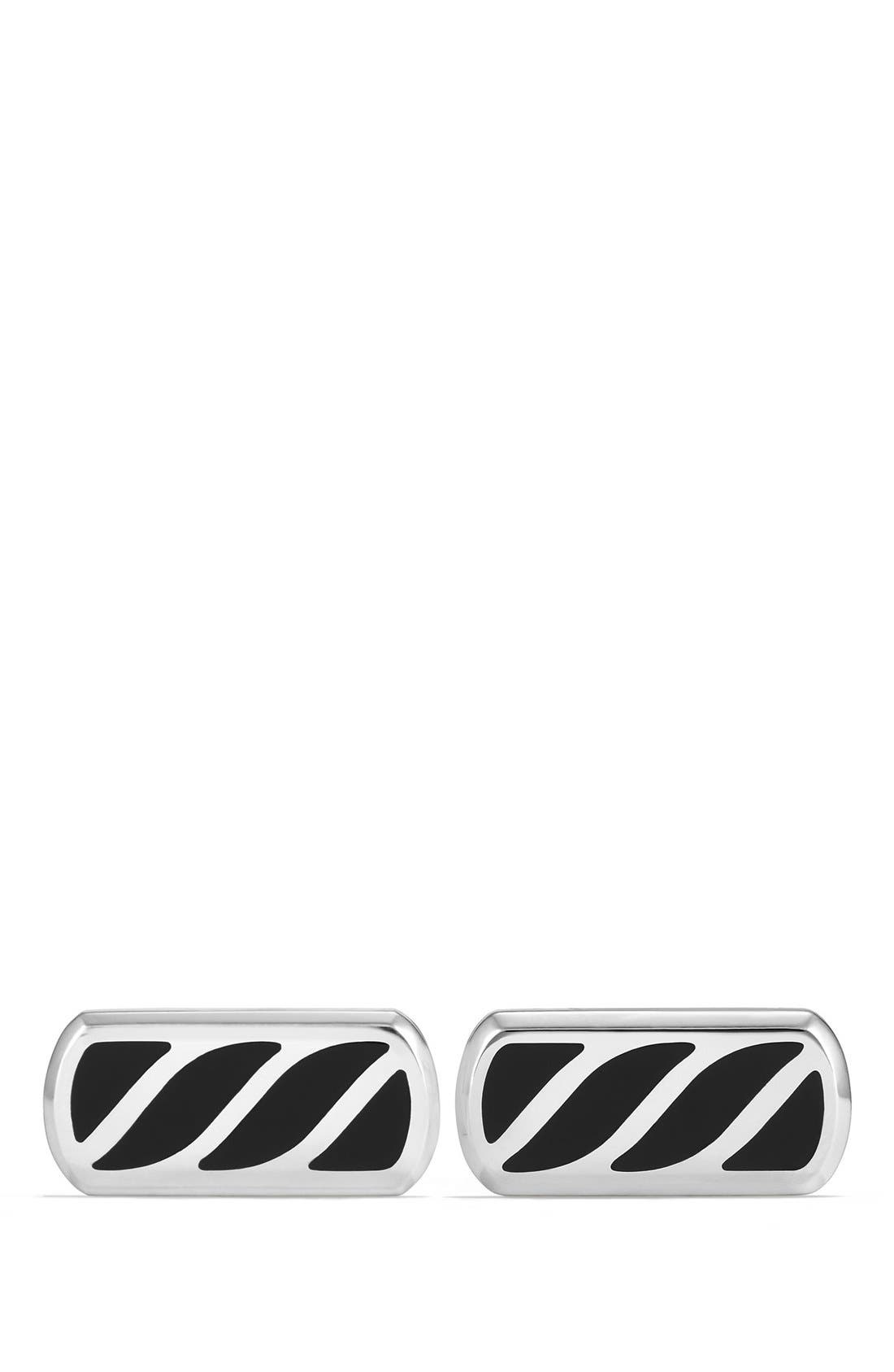 David Yurman 'Graphic Cable' Cuff Links
