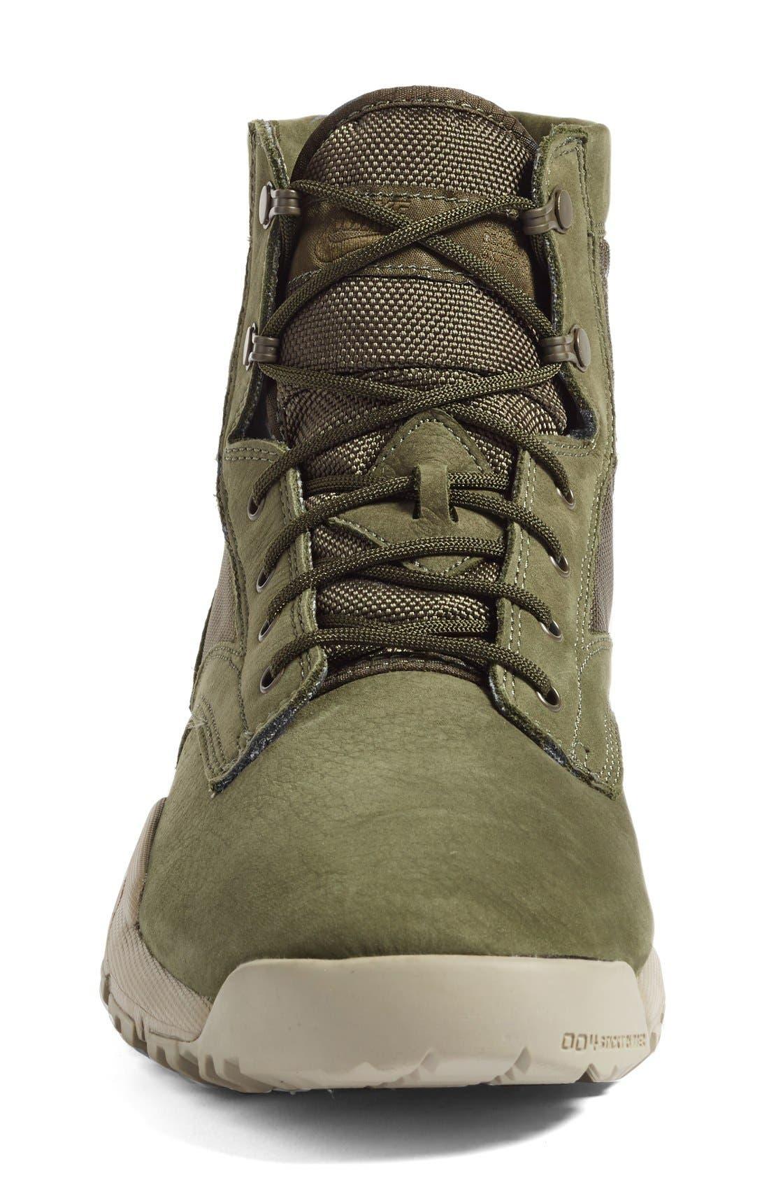 'SFB' Plain Toe Boot,                             Alternate thumbnail 3, color,                             Cargo Khaki/ Cargo Khaki