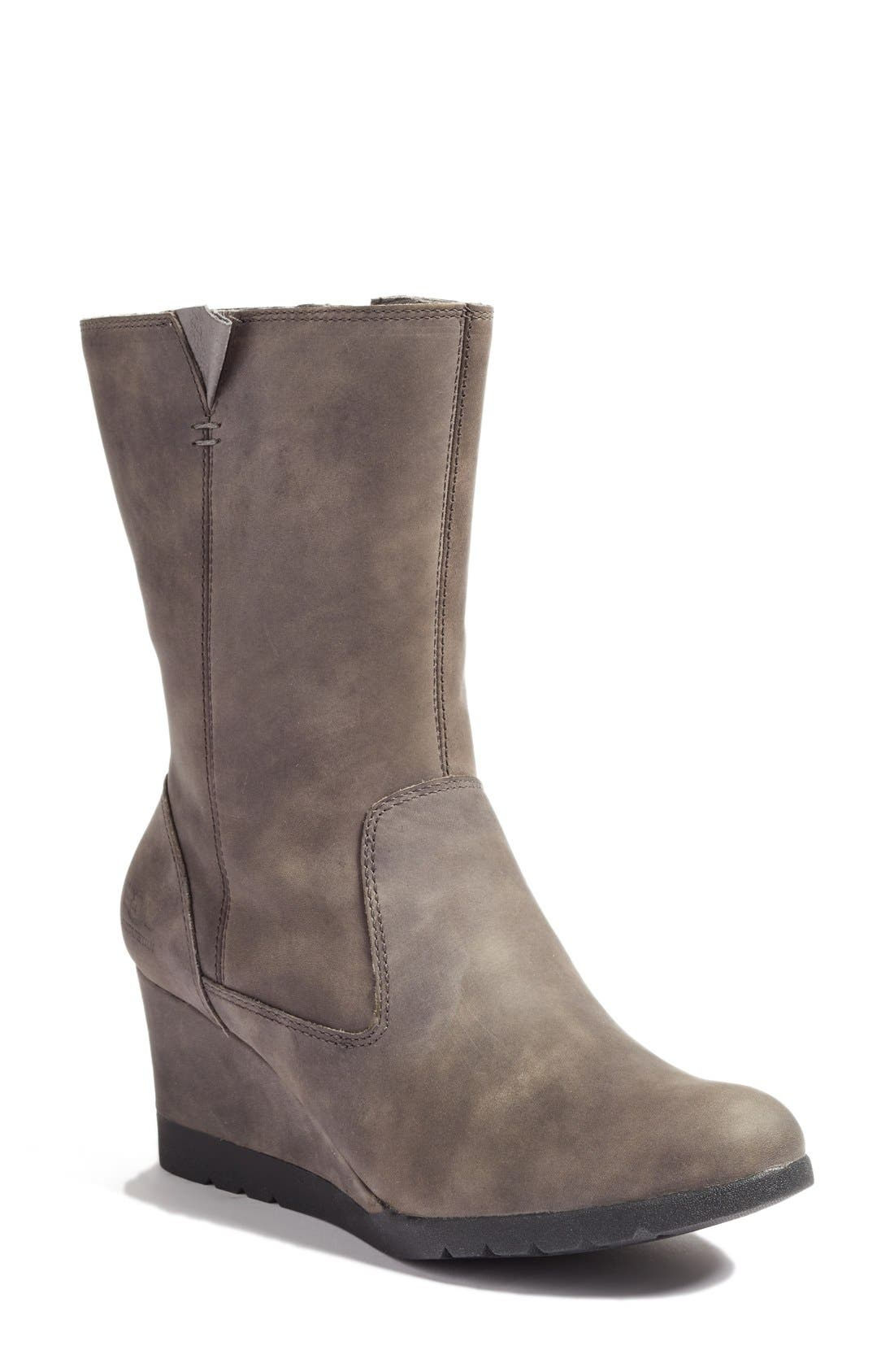Alternate Image 1 Selected - UGG® Joely Wedge Boot (Women)