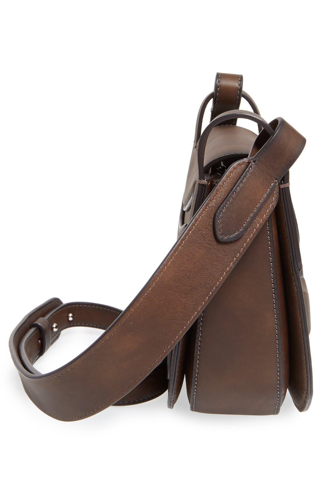 Alternate Image 5  - Michael Kors 'Daria' Leather Saddle Bag