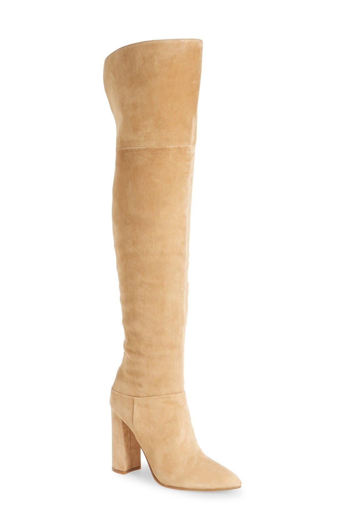 Main Image - Marc Fisher LTD 'Breley' Over the Knee Boot (Women)