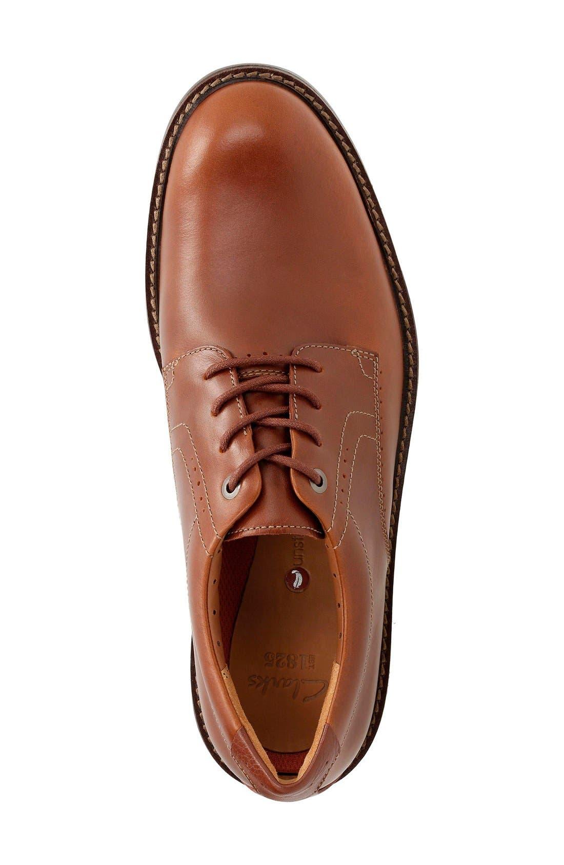 Alternate Image 3  - Clarks® 'Un.Elott' Plain Toe Derby (Men)