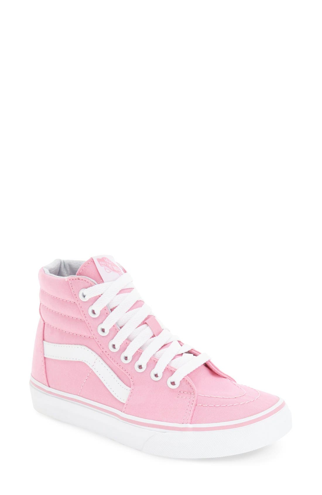 Alternate Image 1 Selected - Vans 'Sk8-Hi' Sneaker (Women)