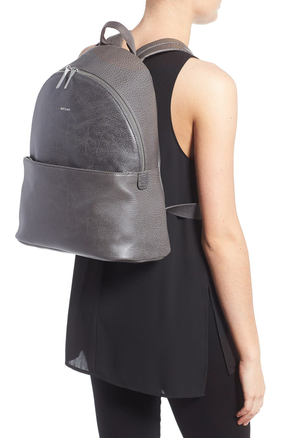 Alternate Image 2  - Matt & Nat 'July' Faux Leather Backpack
