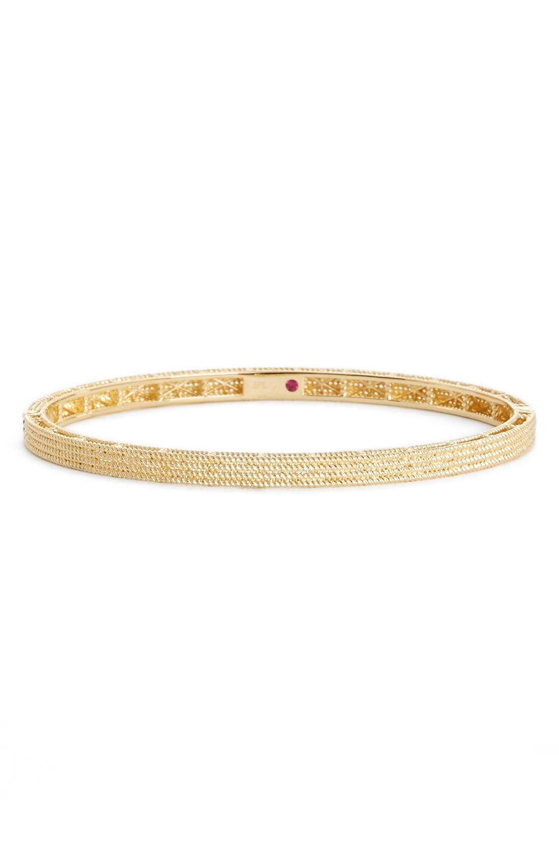 Roberto Coin Symphony Collection Gold Stacked Barocco Bangle in 18K Rose Gold jb8O1lk43W