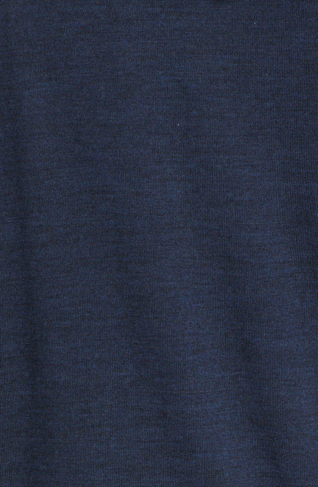 Alternate Image 5  - John Varvatos Collection Merino Wool Zip Hoodie