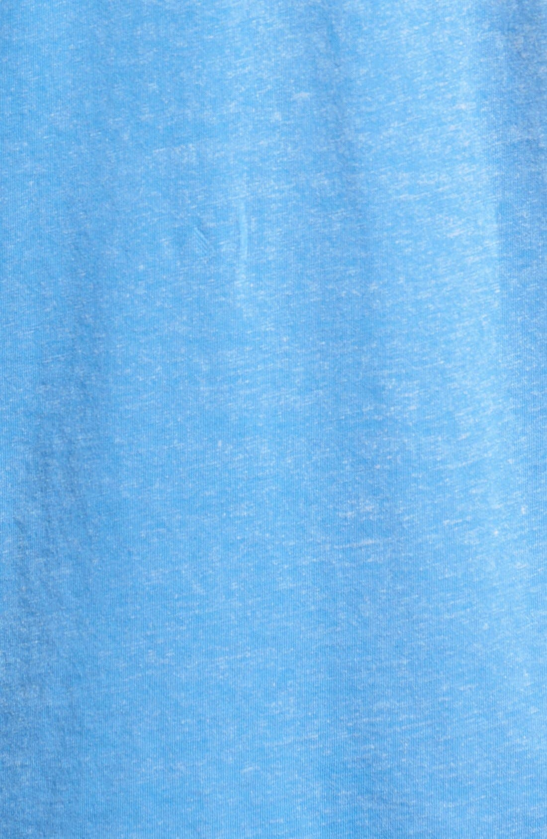 'Kahuna' V-Neck T-Shirt,                             Alternate thumbnail 5, color,                             Palace Blue